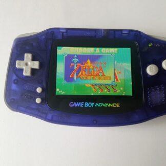 GBA clear purple