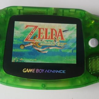 gba clear green