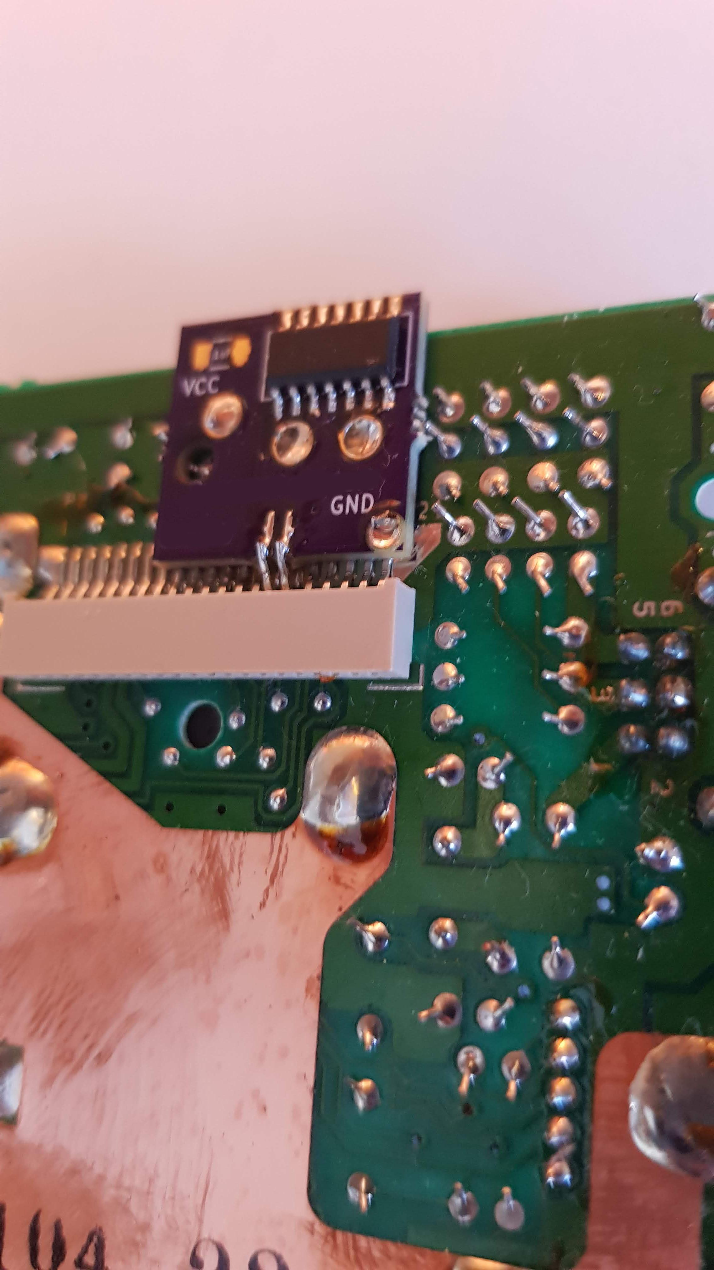 Gameboy DMG -01 White Backlight and bivert module mod kit - Plastic screen  lens