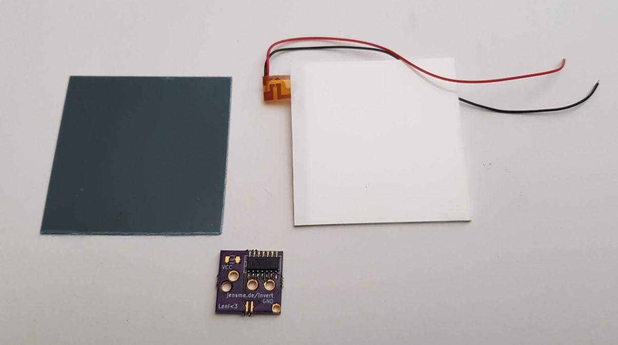 Gameboy DMG -01 Yellow Backlight and bivert module mod kit -